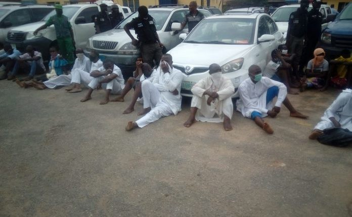 Photo of Pastor, Imam and 27 others arrested for violating lockdown order in Lagos