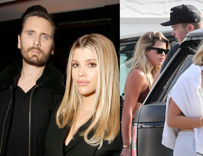 Sofia Richie sparks breakup rumors with Scott Disick