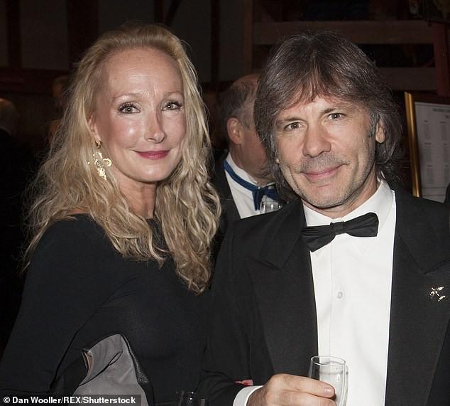 Iron Maiden frontman Bruce Dickinson's estranged wife