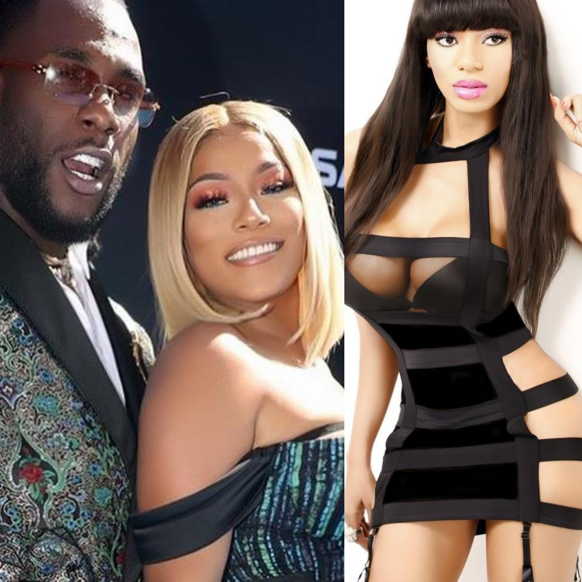 Photo of Burna Boy and girlfriend Stefflon Don are ugly inside out – Dencia
