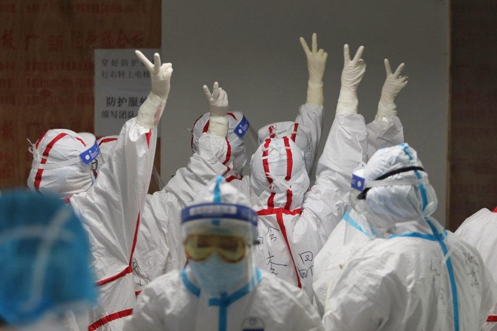 China reports no new COVID-19 cases in 24 hours