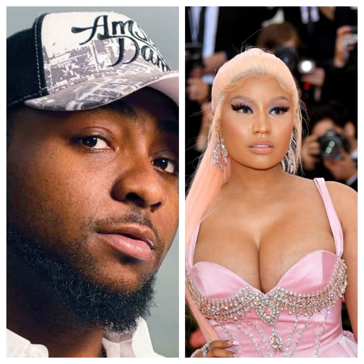 Davido and Nicki Minaj collaboration