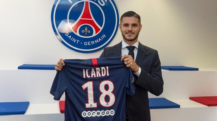 PSG confirm £52m signing of Mauro Icardi