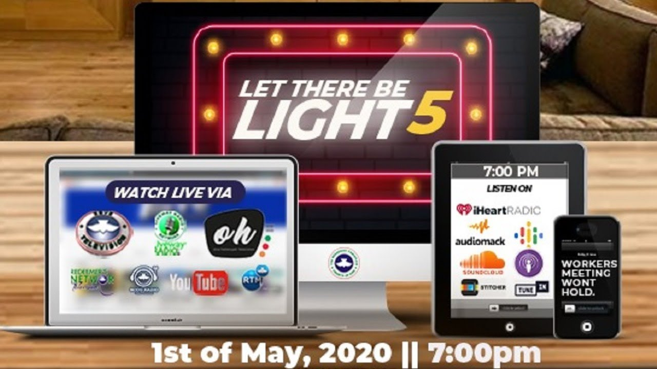RCCG May 2020 Holy Ghost Service