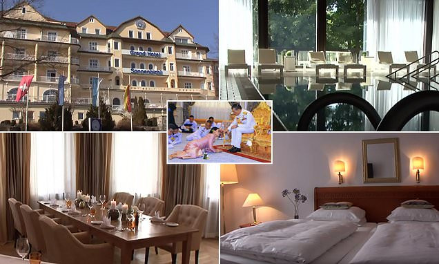 Photo of Inside the four-star resort in Germany where Thai king is spending lockdown with his harem of 20 'sex soldiers' (Photos)