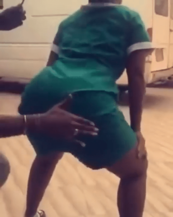 Photo of Curvy Ghanaian nurse who twerked in her uniform while on duty is declared wanted (video)