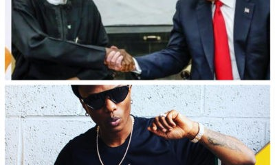 Buhari and Trump are clueless! – Wizkid fires