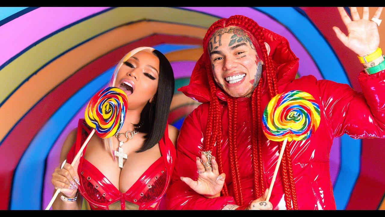 "Photo of Nicki Minaj and 6ix9ine release new collab ""Trollz"""