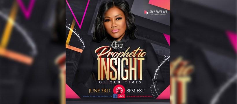 Watch Dr. Juanita Bynum Live Prayer 2 June 2020