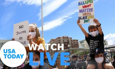 Live: Protesters around U.S. demand justice for George Floyd