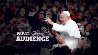 Photo of General Audience by Pope Francis 3rd June 2020 at Vatican