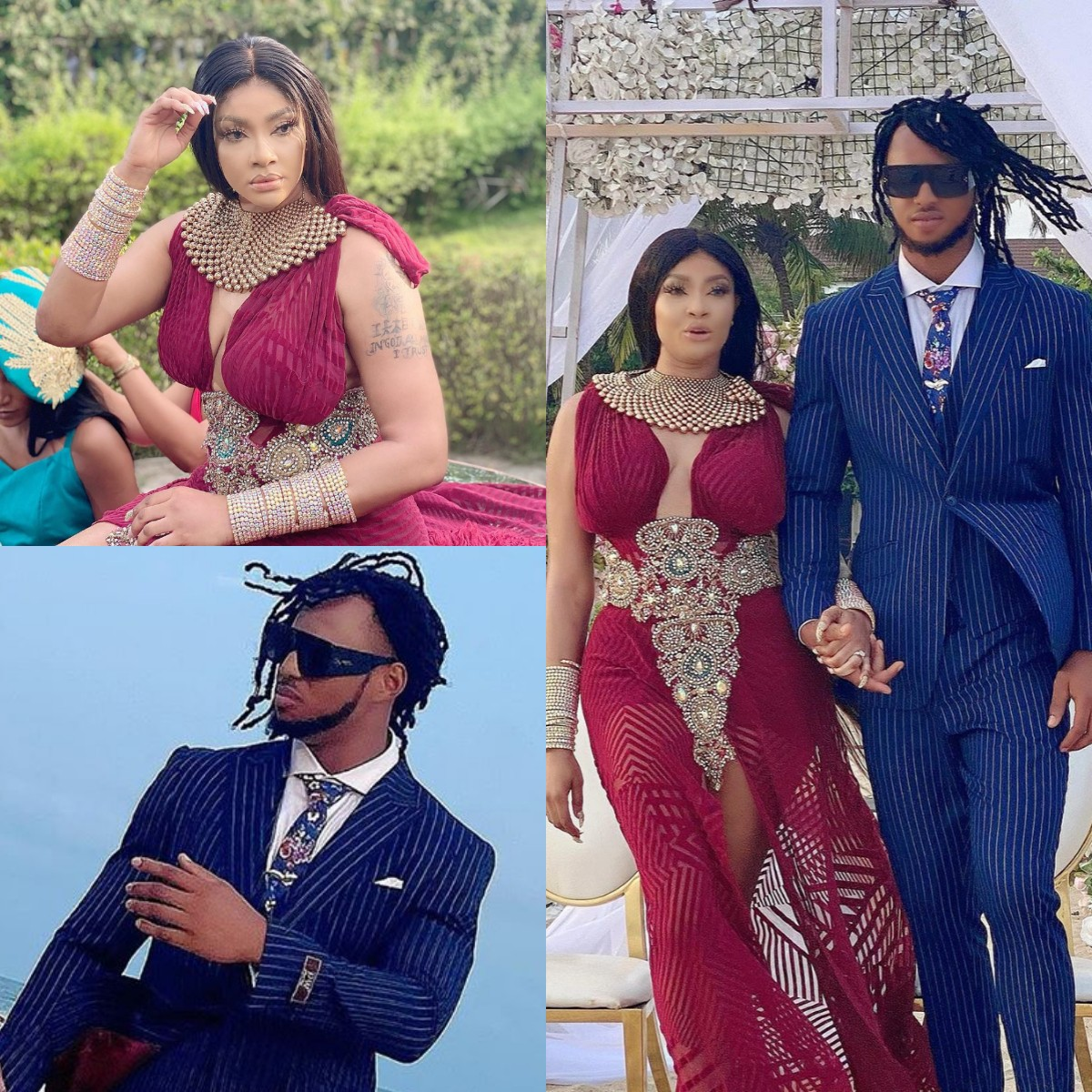 Angela Okorie wedding, Wedding photos of Nollywood actress, Angela Okorie and her hubby Desmond, Premium News24