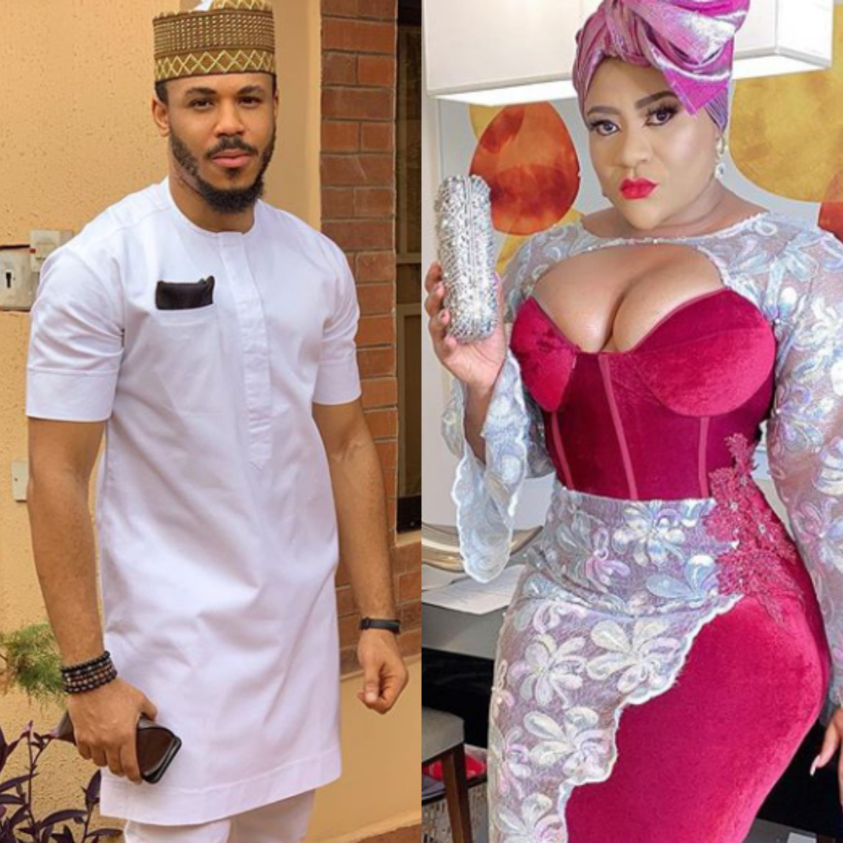 Photo of Actress Nkechi Blessing gushes over BBNaija's Ozo