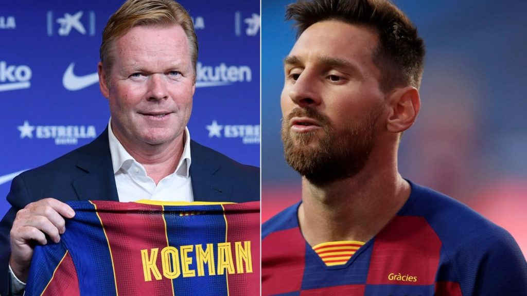 Photo of Your privileges in Barcelona are over – Details of Koeman's chat with Messi revealed