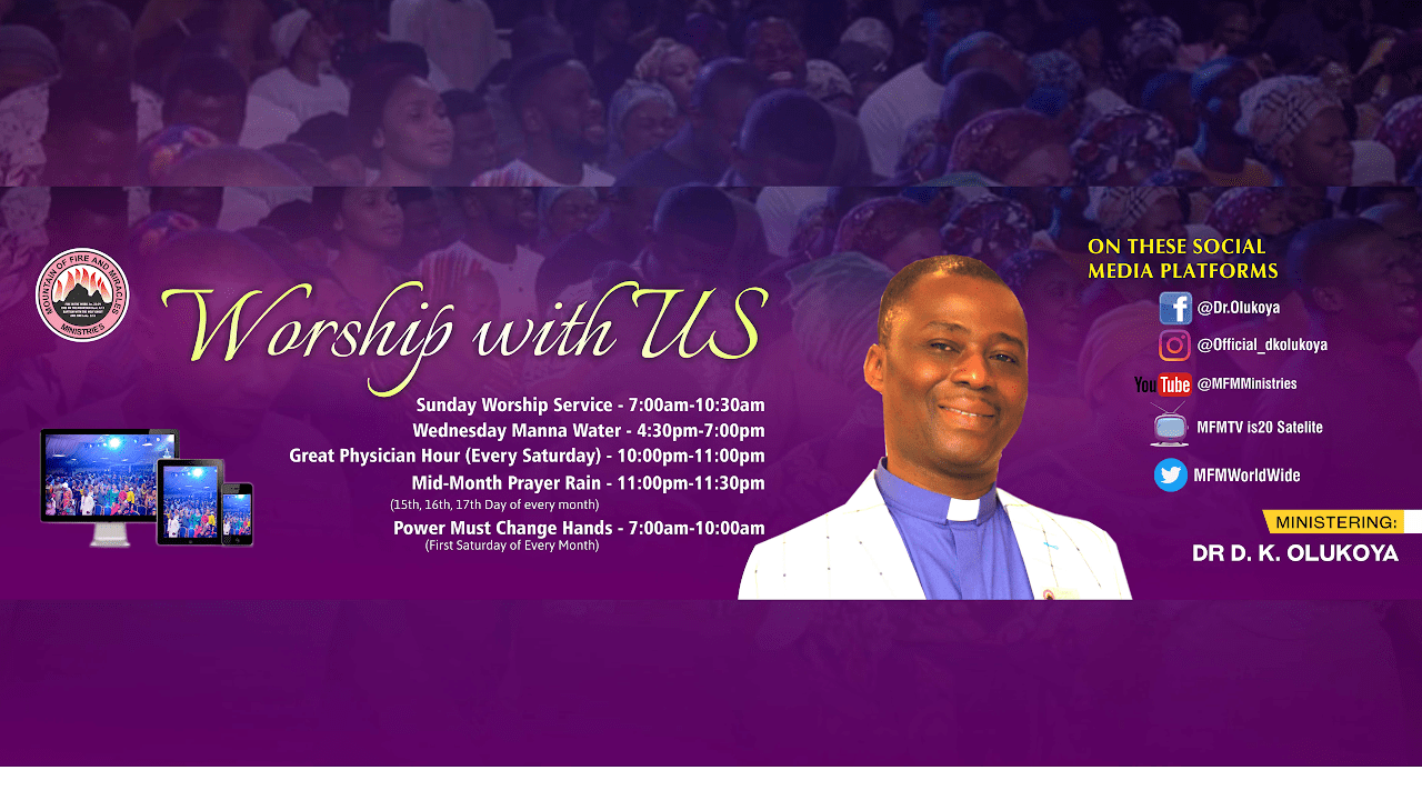 Photo of MFM Sunday Service 13 September 2020 by Dr. D.K Olukoya