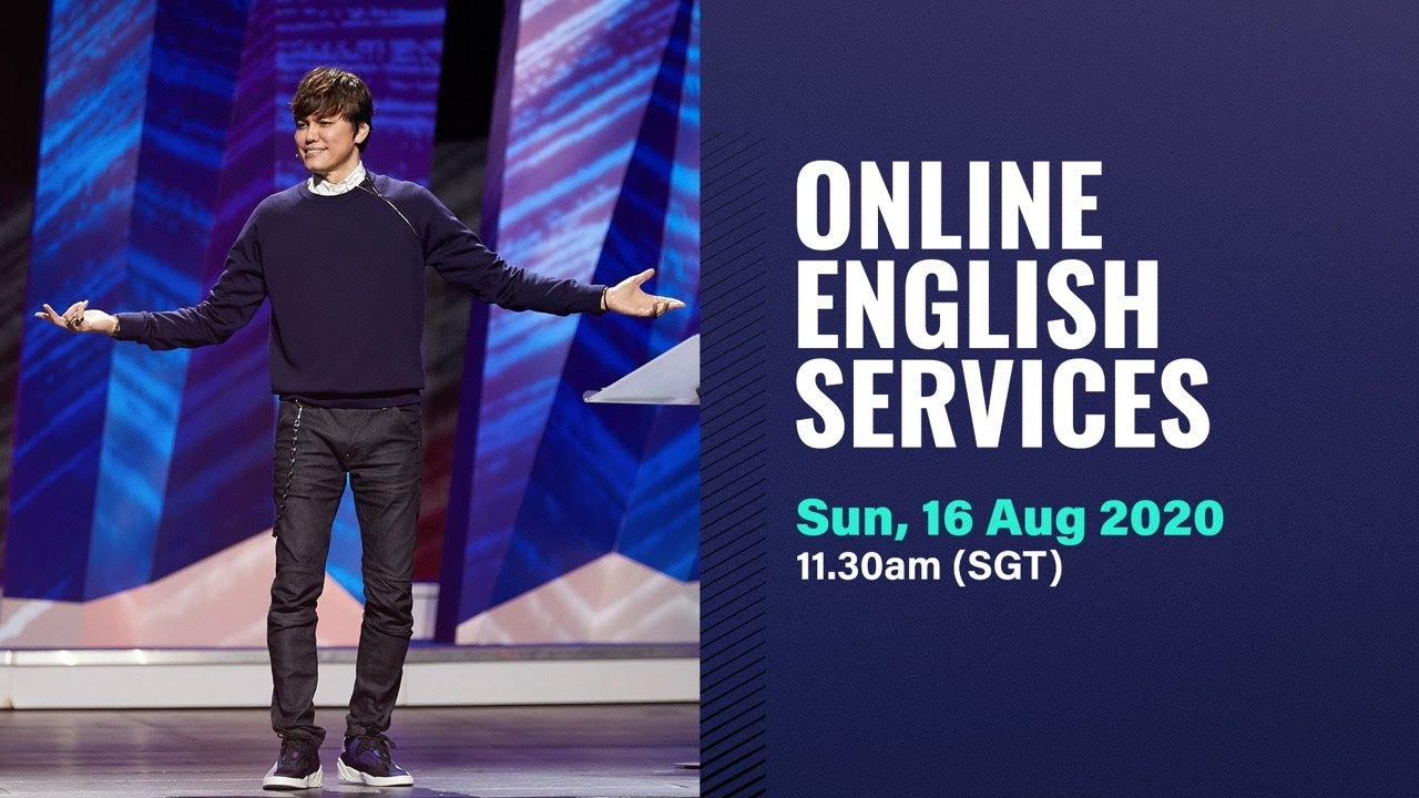 Photo of New Creation Live Service Online with Joseph Prince 16 August 2020