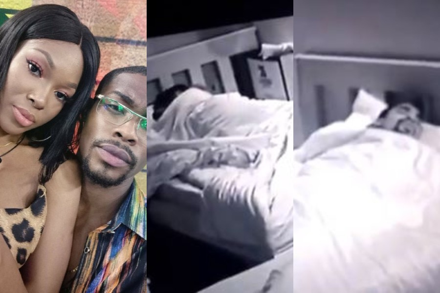 Photo of Vee Moves out of Neo's bed after he was caught making out with Kaisha in the bathroom (Video)