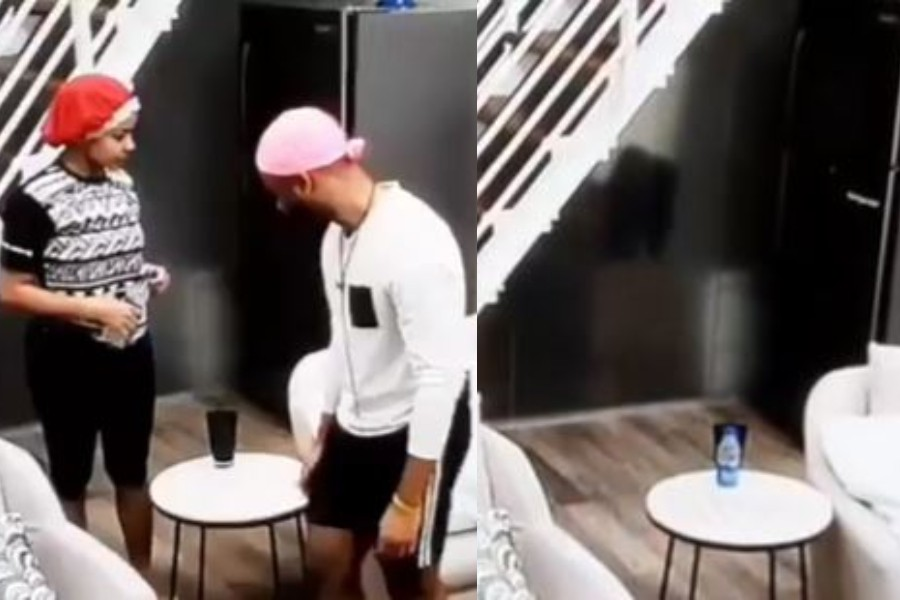 Photo of BBNaija: Watch how Kiddwaya, Tolanibaj and Erica left the Head of House Lounge dirty during their stay (Video)