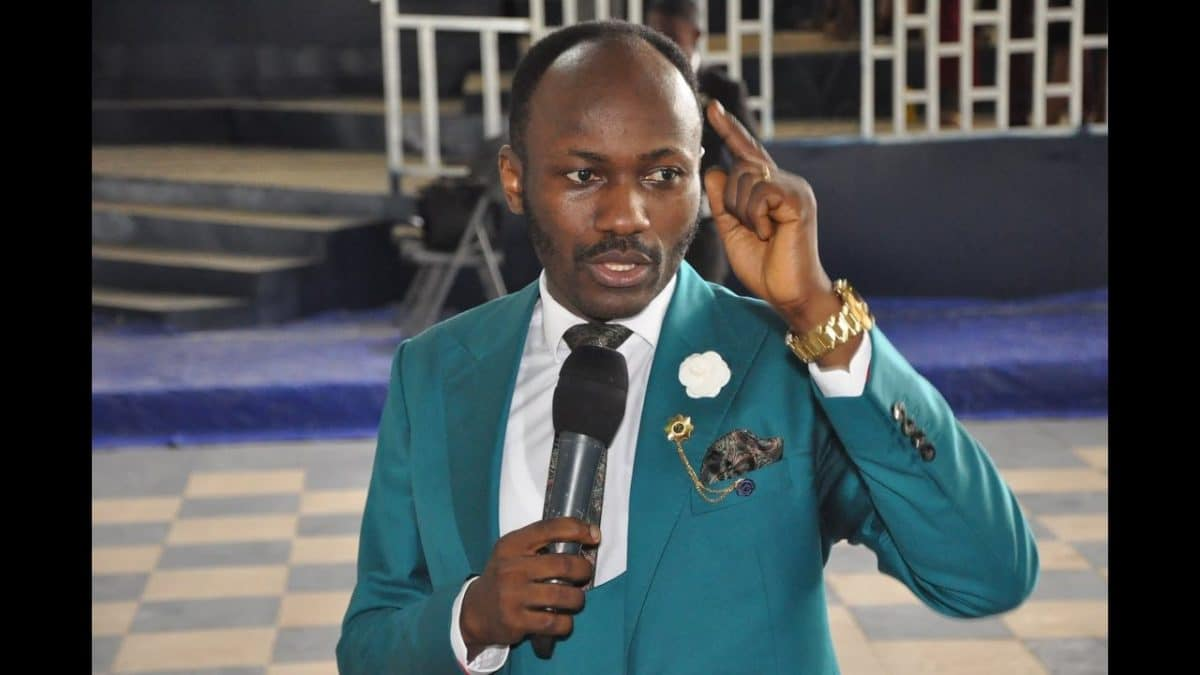 """It slipped out of my mouth""- Apostle Suleman reacts to viral video of him praying COVID19 shouldn't end"