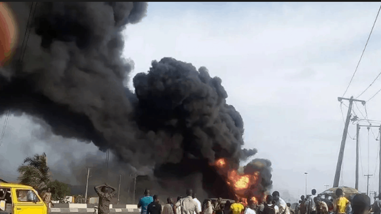 Breaking: Gas explosion hits Lagos State, Breaking: Gas explosion hits Lagos State, Premium News24