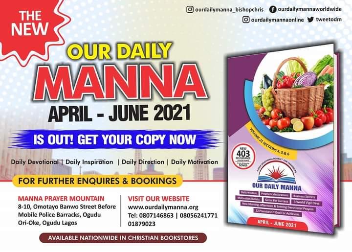 ODM Devotional 27th July 2021