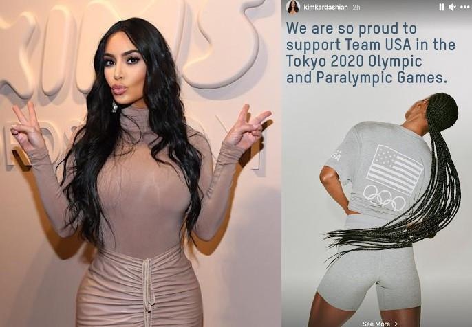 Kim Kardashian's Skims made Team USA's official loungewear for Tokyo Olympics