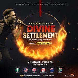 NSPPD Livestream 21st July 2021 with Pastor Jerry Eze