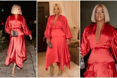 Photos of Toke Makinwa on her 34th birthday dinner party
